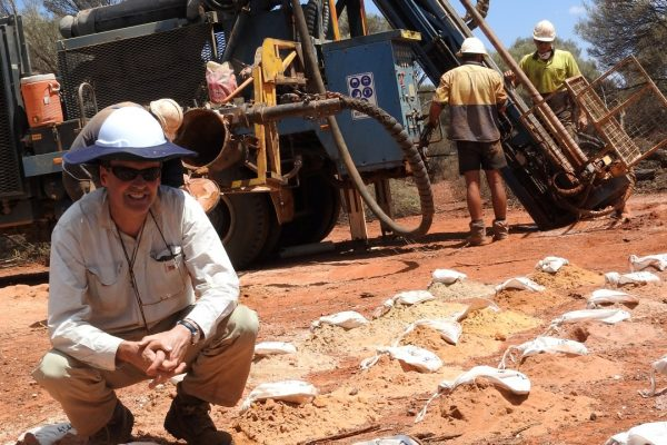 Gold exploration at Laverton in Western Australia