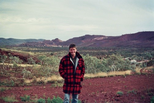 1993 at the Mount Newman iron ore mine, Pilbara, Western Australia. was a desert, but it was damn cold.